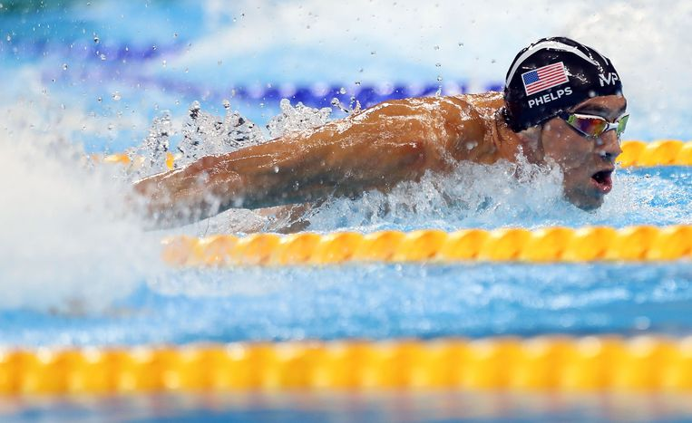 Michael Phelps Beeld Getty Images