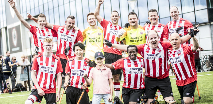 Het amputatieteam van PSV won van Royal Antwerp FC