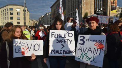 10.000 mensen op straat tegen geweld tegen vrouwen
