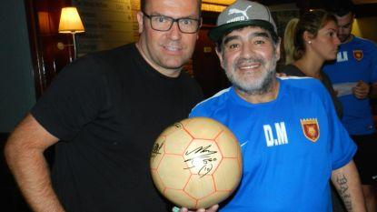 """De Houten Bal aflevering 31, met Diego Maradona: """"Hij is de beste speler aller tijden. Tot Messi Argentinië wereldkampioen maakt"""""""