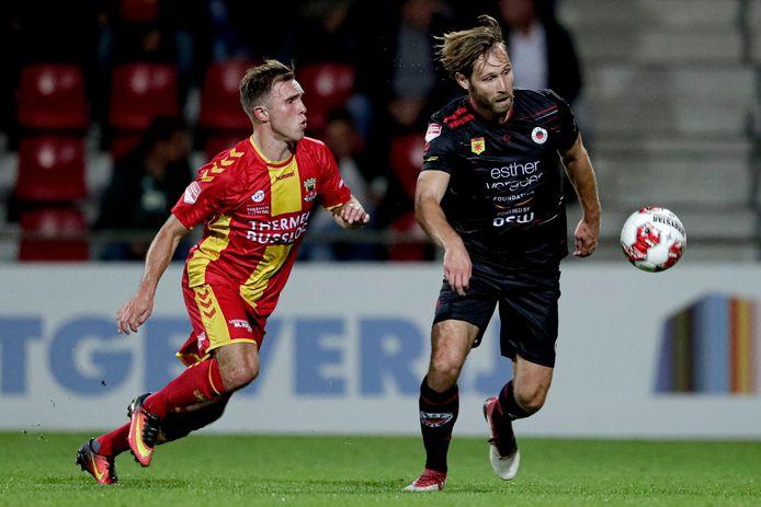 Martijn Berden en Thomas Verhaar in de 2019-editie van GA Eagles-Excelsior.
