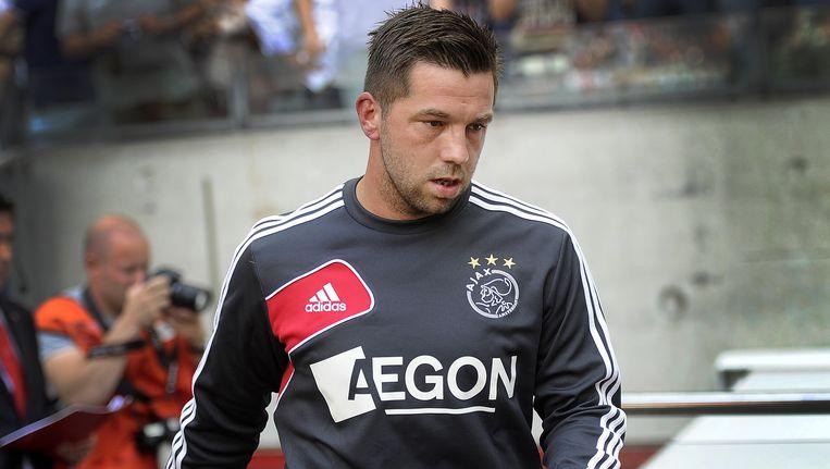 Theo Janssen was vorige week wisselspeler bij Ajax-AZ. Beeld anp