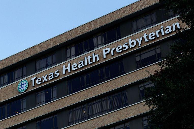 In het Texas Health Presbyterian is gisteren een man gediagnosticeerd met ebola. Beeld afp