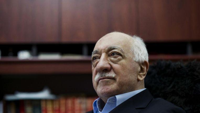 Fethullah Gulen in zijn huis in Saylorsburg, Pennsylvania. De moslimgeleerde leeft sinds de jaren '90 in zelfgekozen ballingschap in de Verenigde Staten. Beeld null