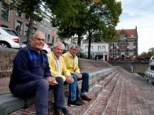Tobbedansen in de Gorcumse Lingehaven: 'Het was een hele happening'