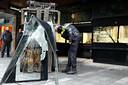 In 2014 reed op klaarlichte dag een vorkheftruck bij de juwelierszaak van Heetman naar binnen.