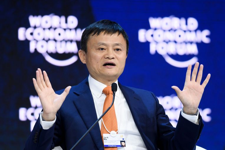 In 2013 legde Ma zijn functie als algemeen directeur bij Alibaba neer, maar als bestuursvoorzitter bleef hij het gezicht van het bedrijf. Hij zegt dat hij voorlopig nog wel in de raad van bestuur blijft en als adviseur aanblijft.