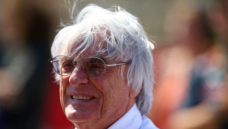 F1-baas Bernie Ecclestone. Beeld getty