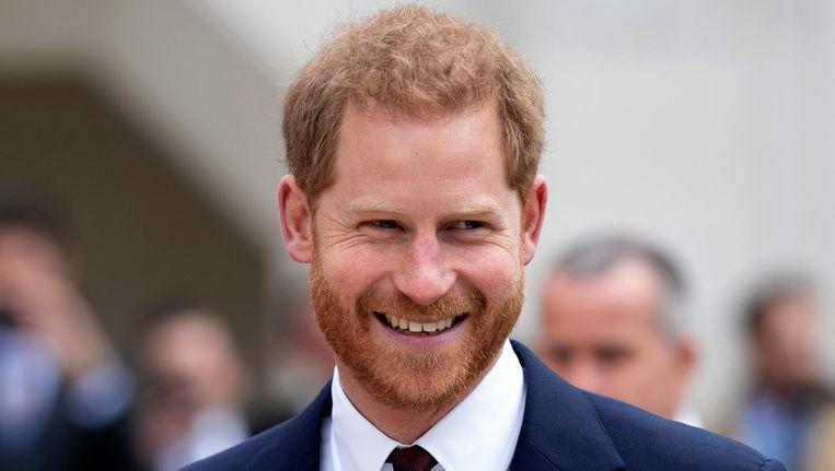 De hertog van Sussex is op woensdag 8 mei in Amsterdam Beeld epa