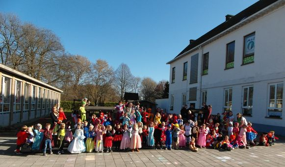 Carnaval in Sterrenkind Serskamp