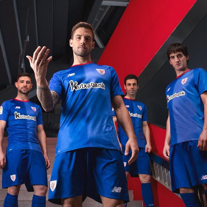 Het nieuwe uittenue van Athletic Bilbao.