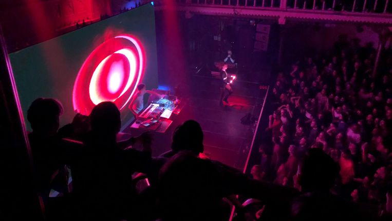 Jon Hopkins in Paradiso. Beeld Desiree Schouteten