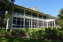 De grote zaal van het Palmetto Bluff Resort