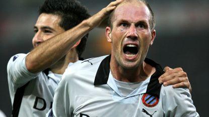 Dít was Clement bij Club Brugge, als speler en als assistent