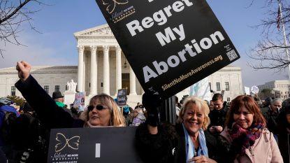 """Trump steunt anti-abortusactivisten: """"Ook ongeboren kinderen hebben recht op leven"""""""
