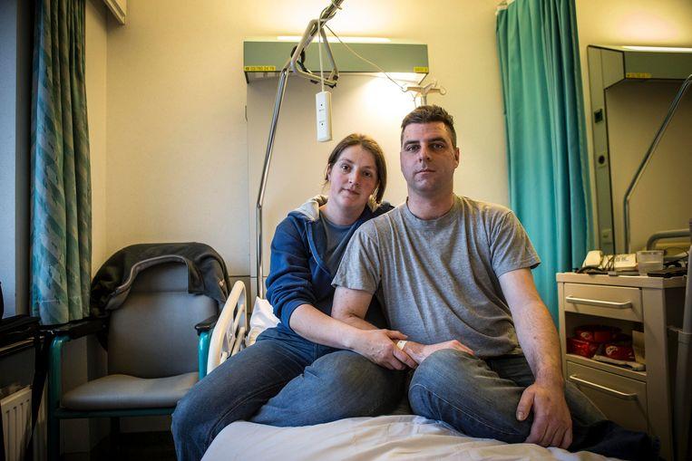 Peter Ketelslegers en zijn vrouw Conny.