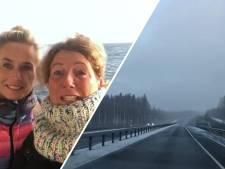 Noordkaap Challenge: ijskoud avontuur van zussen is begonnen