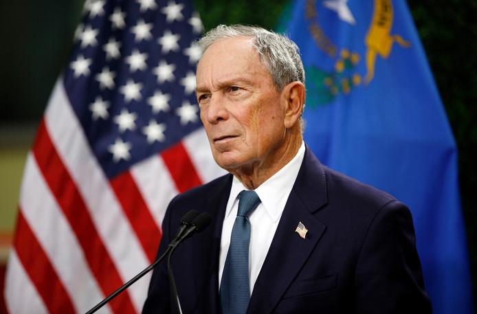 Oud-burgemeester van New York Michael Bloomberg.