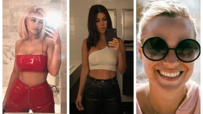 SHOWBITS. Mirror selfies bij de vleet en een make-uploze An Lemmens