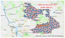 Zo zouden de zonnepanelen in het buitengebied van Deventer straks kunnen komen te liggen volgens coalitiepartij Gemeentebelang.