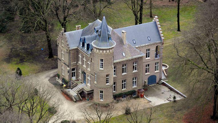 Het kasteel in Wingene waar bewoner Stijn Saelens werd beschoten.