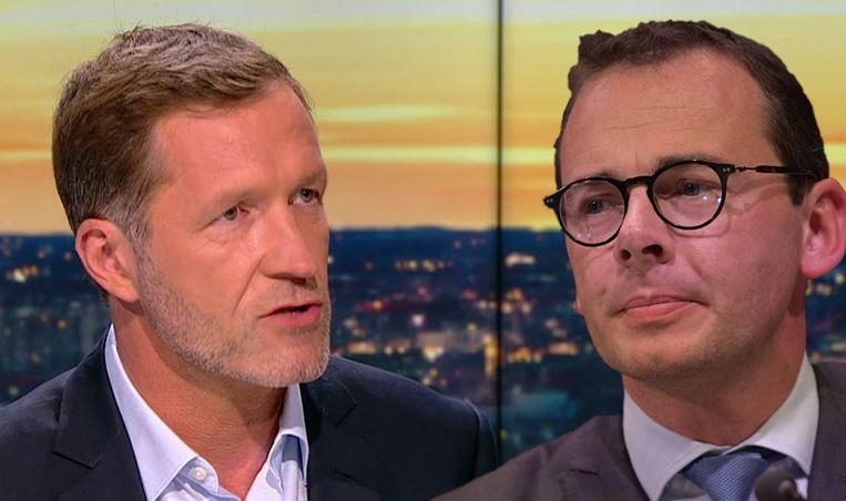 Paul Magnette en Wouter Beke