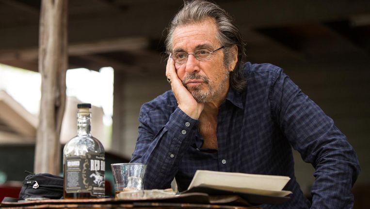 Al Pacino als de stugge sleutelmaker in Manglehorn. Beeld Kosteloo