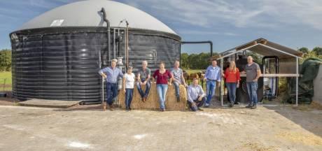 Biogasnetwerk Noord-Deurningen is klaar