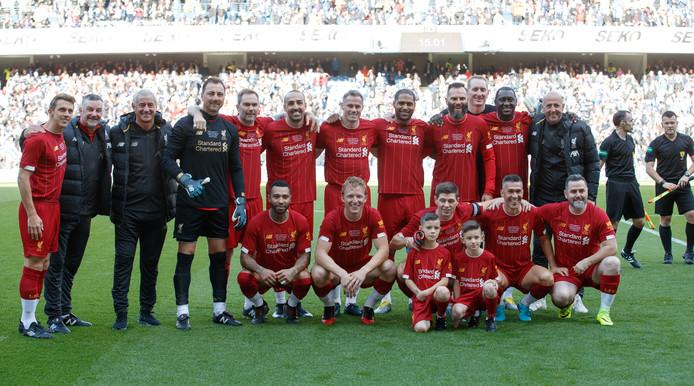Het team van Liverpool.