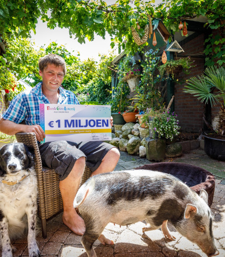 Ineens is hovenier Gerard miljonair: 'Met Lady en Spekkie naar vrijstaand huisje met lapje grond'