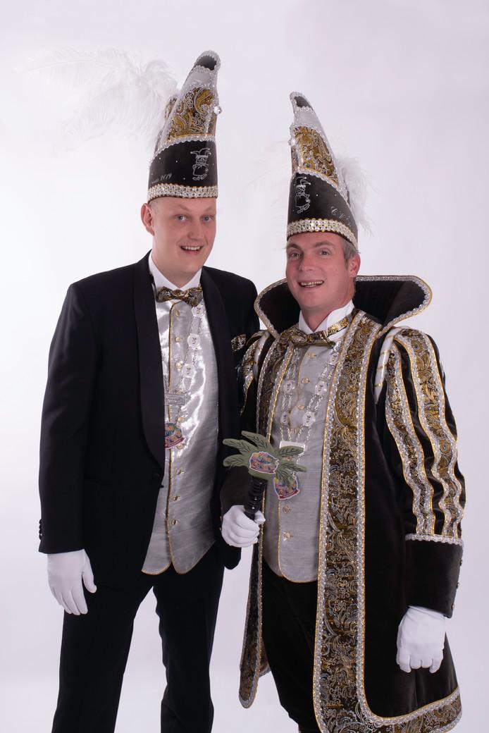 Statieportret van de nieuwe adjudant en prins van De Melbuulkes.