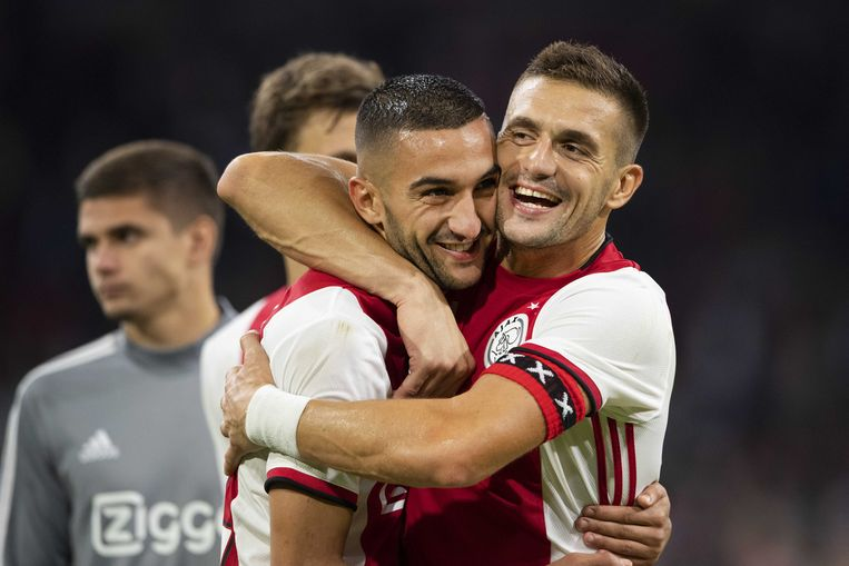 Dusan Tadic en Hakim Ziyech