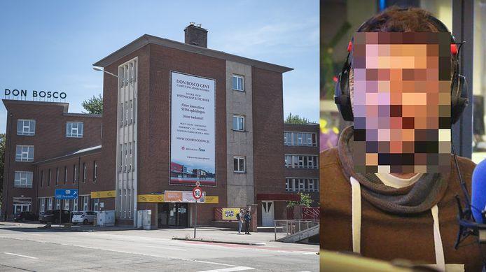 S.D.B. gaf les aan Don Bosco in Gent. De middelbare school schorste de leerkracht.
