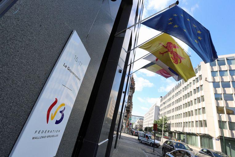 Het kabinet van Joëlle Milquet aan het Surlet de Chokierplein, aan de Brusselse Kleine Ring.