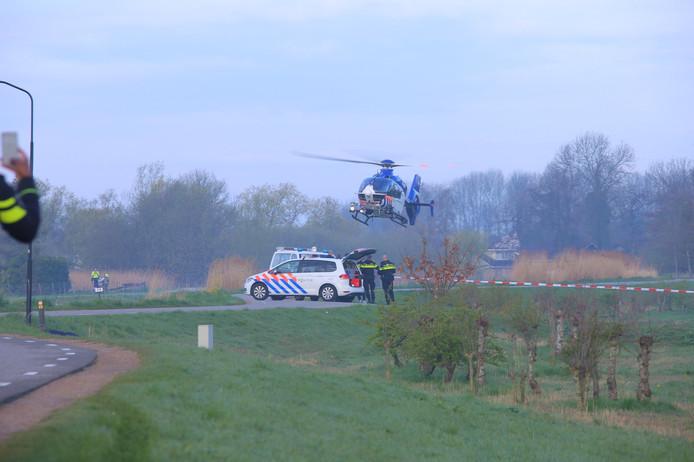 De dode man werd vanochtend aangetroffen in Wilnis.