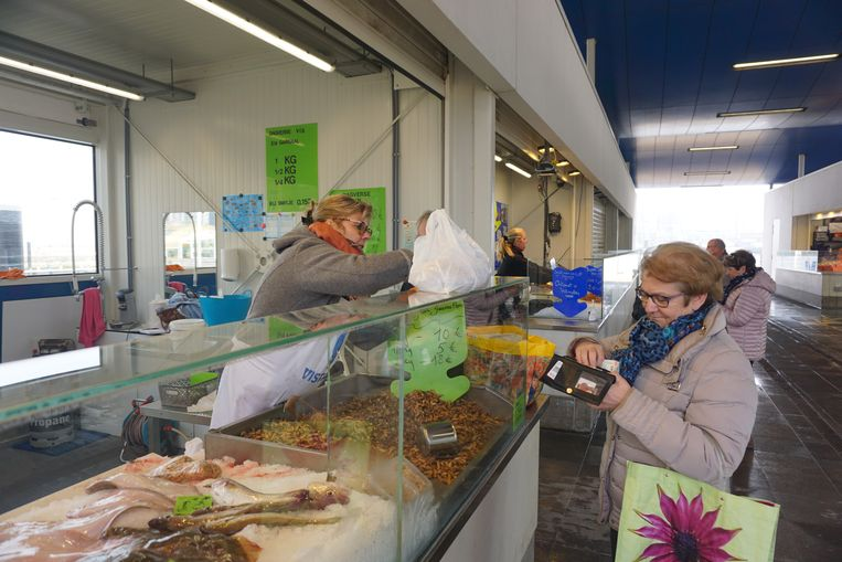 De Vistrap van Oostende is ondanks de coronacrisis gewoon open.