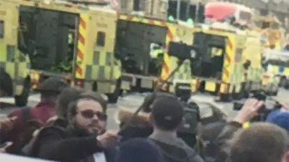 Selfie aan ambulances Westminster Bridge zorgt voor flinke verontwaardiging