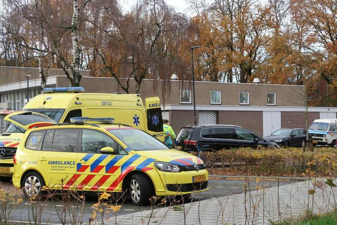 Ongeluk in Oosterhout.