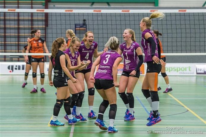 Eerder dit seizoen won Eurosped met 3-0 in Ootmarsum.