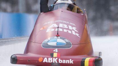 Willemsen en Aerts worden dertiende in openingsmanche WB bobslee