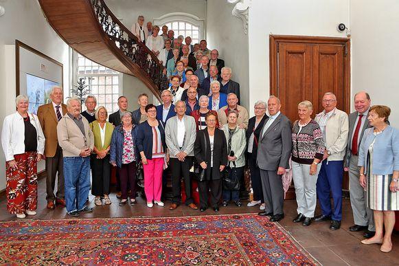 De stad Lier bood 23 gouden echtparen een receptie aan op het stadhuis.