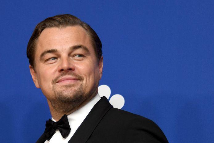 Leonardo DiCaprio lors de la cérémonie des Golden Globes, le 5 janvier 2020.