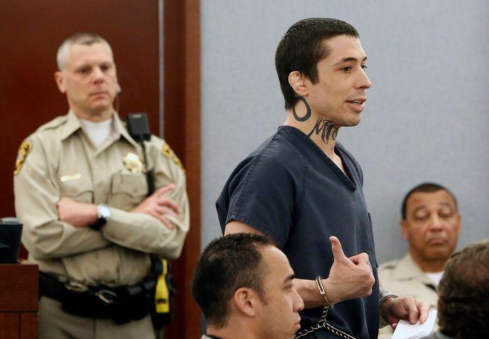Koppenhaver in juli even voordat hij veroordeeld werd tot levenslang.