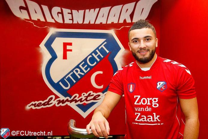 Zakaria Labyad in Utrecht-shirt.