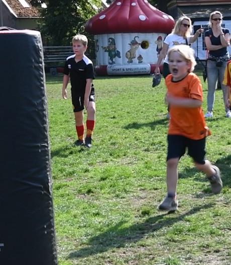 Bij Apeldoornse rugbyclub klappen ze voor tegenstander