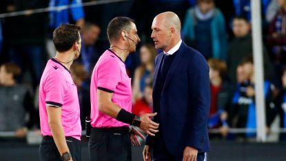 """Clement begrijpt niet waarom Club geen penalty kreeg: """"Regels zijn regels en hier werden ze niet toegepast"""""""