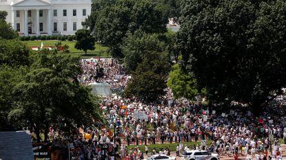 Dit weekend opnieuw tienduizenden betogers tegen Trump verwacht