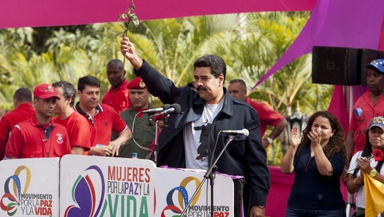President Nicolás Maduro van Venezuéla. Beeld anp