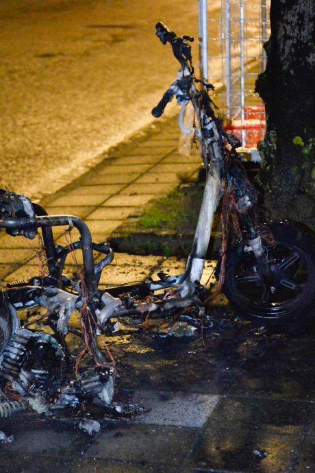 Tienduizenden euro's schade door opblazen van deelscooters in Breda en Oosterhout