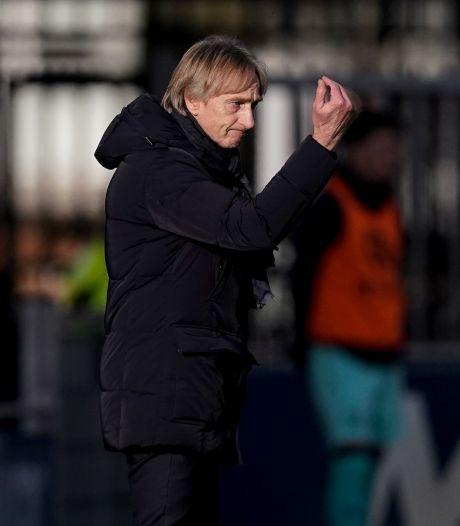 Adrie Koster ziet er nog heil in bij Willem II: 'Anders stond ik hier niet meer'